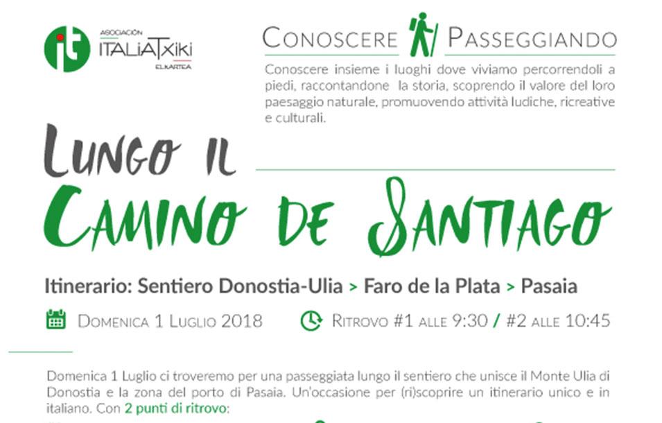 Primo incontro del ciclo CONOSCERE PASSEGGIANDO - Asociación ItaliaTxiki Elkartea - Italiani nei Paesi Baschi