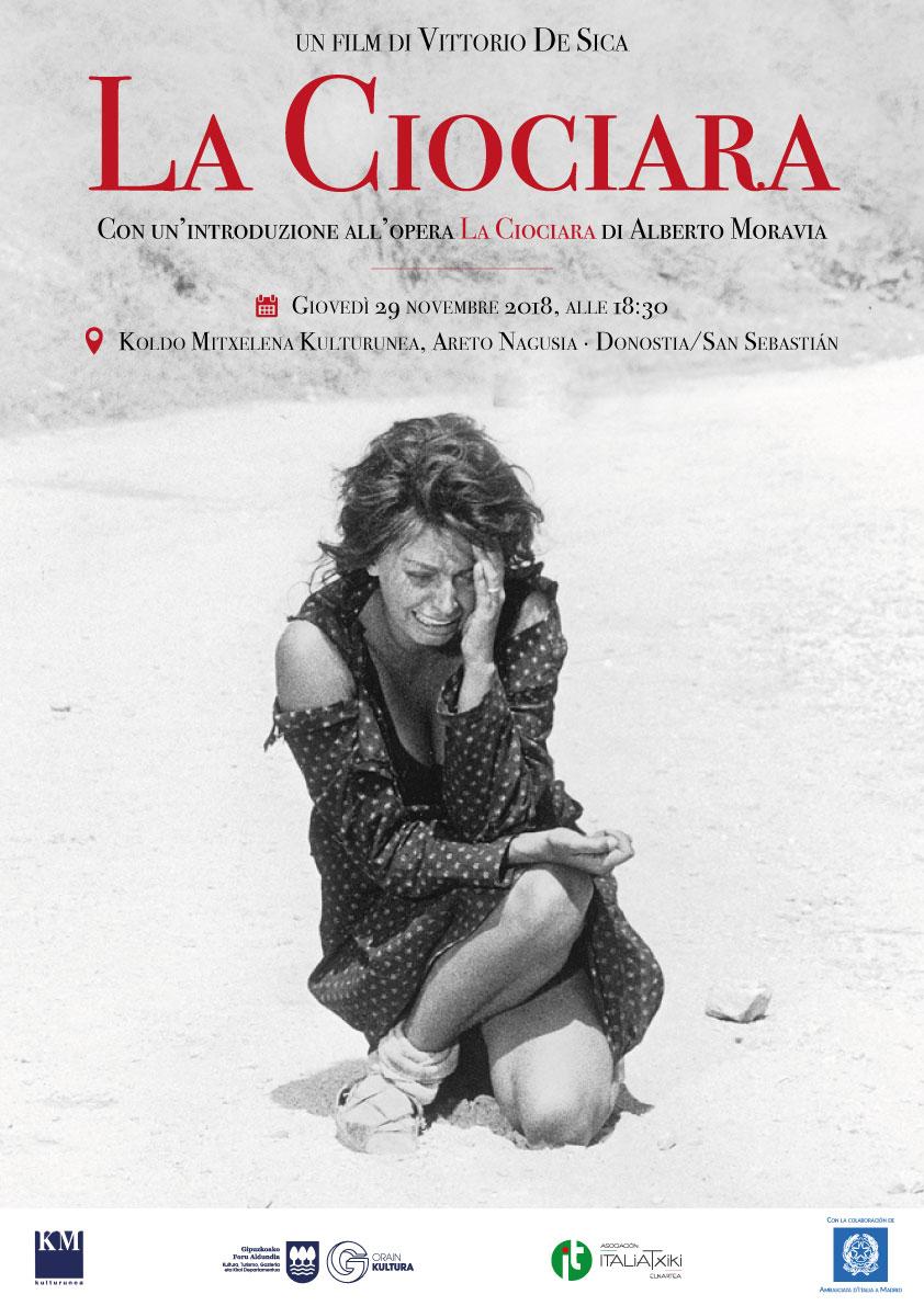 La Ciociara di Vittorio De Sica - Mosaico Italiano, fra cinema e letteratura - ciclo culturale di ItaliaTxiki - 2018-19