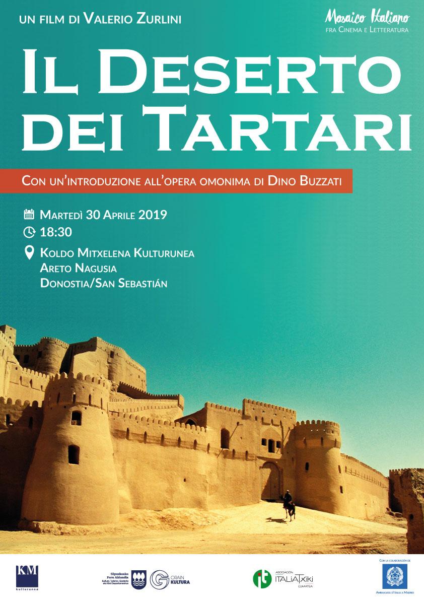Il Deserto dei Tartari (film di Valerio Zurlini) - Mosaico Italiano, fra cinema e letteratura - ciclo culturale di ItaliaTxiki - 2018-19