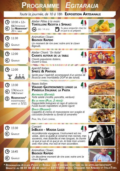 L'artisanat d'art en Fête - Senpere - 11 novembre 2019 - ItaliaTxiki