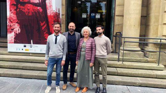 Conferenza stampa di MI2 - Mosaico Italiano 2 - Ciclo di cinema italiano a Donostia/San Sebastián - Francesco Roncaglia, Denis Itxaso