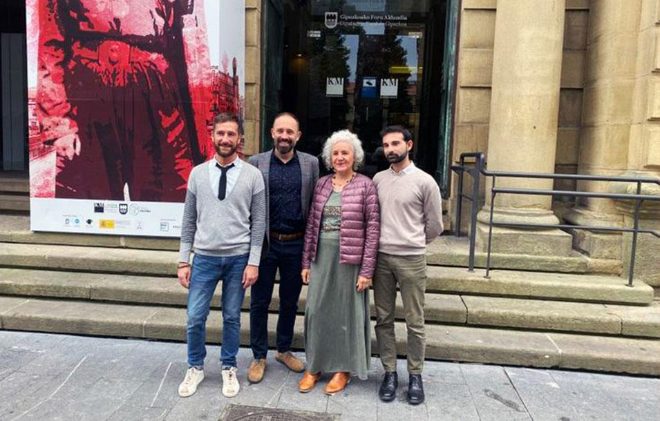 Conferenza stampa di MI2 - Mosaico Italiano 2 - Ciclo di cinema italiano a Donostia/San Sebastián