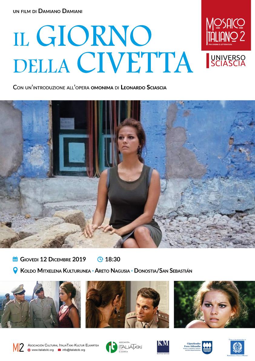Il giorno della civetta - MI2 - Mosaico Italiano 2 - Ciclo di cinema italiano a Donostia/San Sebastián